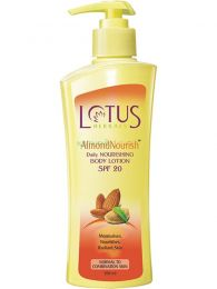 Lotus Herbals Almond Nourish Body Lotion SPF 20