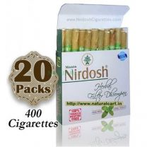 Nirdosh Herbal Cigarettes (Export Quality) - 20 packs