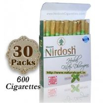 Nirdosh Herbal Cigarettes (Export Quality) - 30 packs