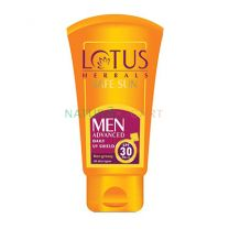 Lotus Herbals Safe Sun Men Advanced daily UV Shield SPF 30 PA+++