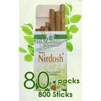 Nirdosh Herbal Cigarettes - 80 packs