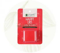Organic Harvest Happy Lips Color lip balm with Hibiscus Oil