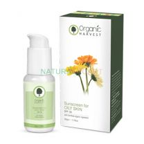 Buy Organic Harvest Sunscreen for Oily Skin with organic ingredients