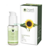 Buy Organic Harvest Sunscreen Gel SPF - 15 Review Buy Online naturalcart,Sunscreen for Oily Skin,