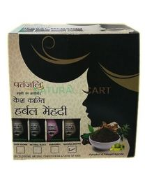 Patanjali Kesh Kanti Herbal Mehandi Dark Brown