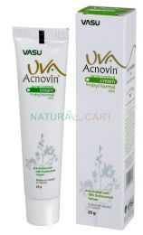 Vasu UVA Acnovin Cream for Dry and Normal Skin