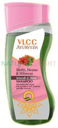Vlcc Ayurveda Methi Henna and Hibiscus Smooth and Shine Shampoo