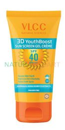 VLCC 3D Youth Boost SPF40 Sunscreen Gel Creme